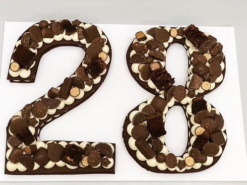 Large Chocolate Chiboust Tart