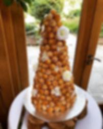 Croquembouche as an alternative wedding