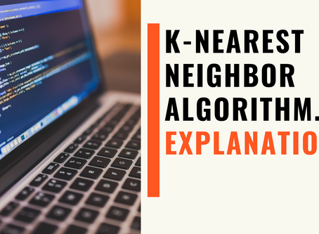 Introduction for K-Nearest Neighbor Algorithm. | For Beginners
