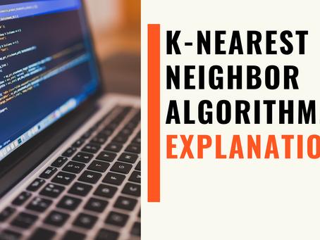 Introduction for K-Nearest Neighbor Algorithm. | For Beginners