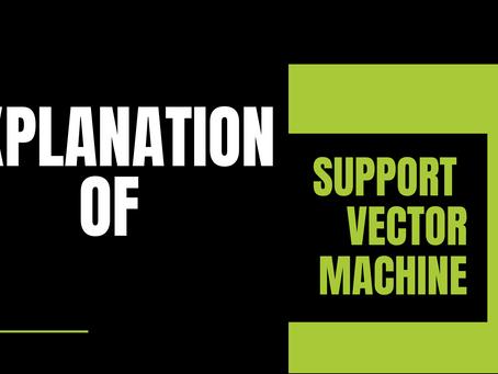 SVM implementation in python. | Proper explanation.