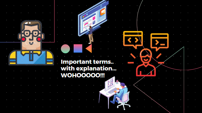 coding important terms with explanation