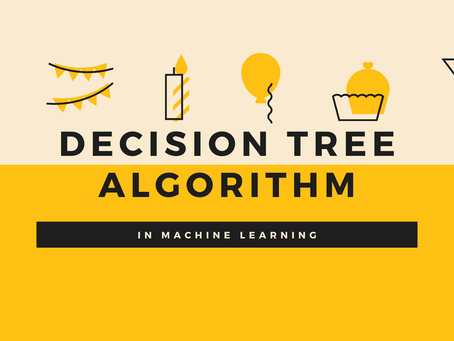 Explanation of Decision tree Algorithm in Machine Learning with python.