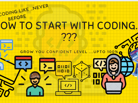 How to start with coding ?? | solution with proper experience.