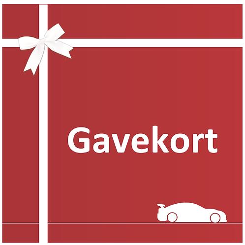 Gavekort Trackday
