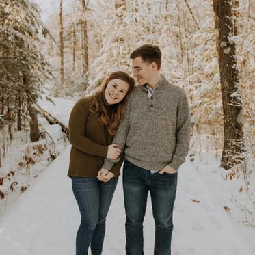 Lexi + Corey | Engagement | Stevens Point, WI