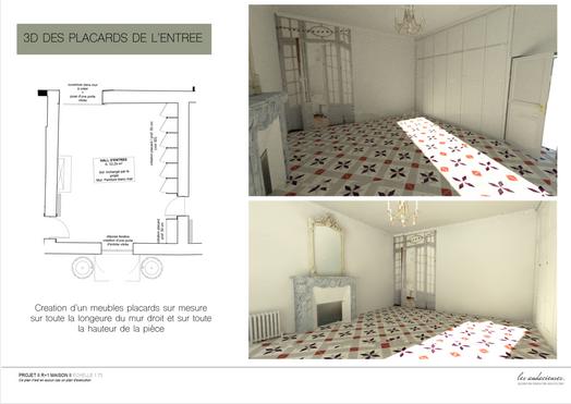 3D visuels placards de l'entrée 9.20.