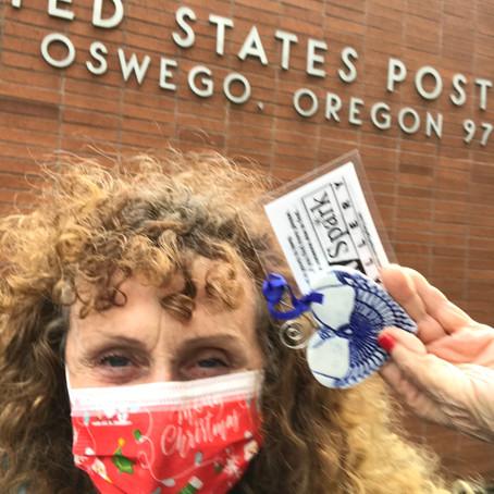 Lake Oswego Community Treasure Hunt Clue #59 Found by Nicole Davis Ornament #59  LO Post Office