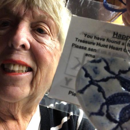 Lake Oswego Community Treasure Hunt Clue #58  Found by Doris Creedon Ornament #58 Lake Grove PO