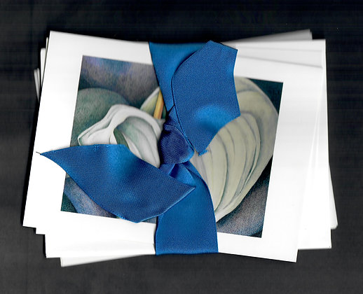 Ribboned Gift Set-Giverny-4 cards & envelopes