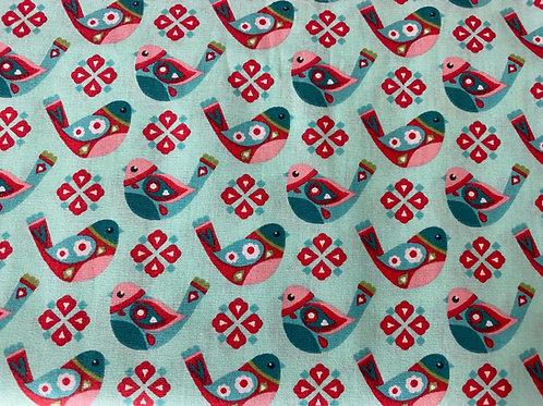 Tecido  Pássaros  EVA EVA