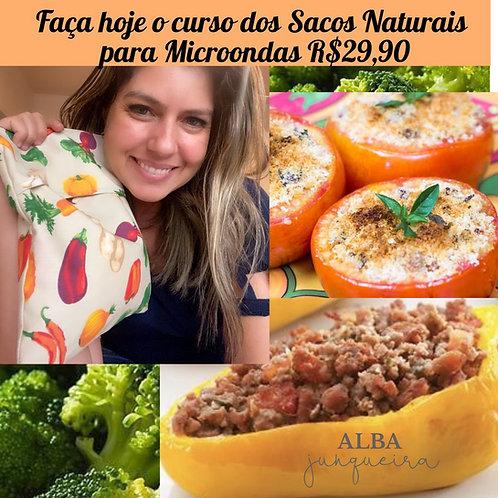 CURSO DE SACOS NATURAIS PARA COZINHAR EM MICROONDAS