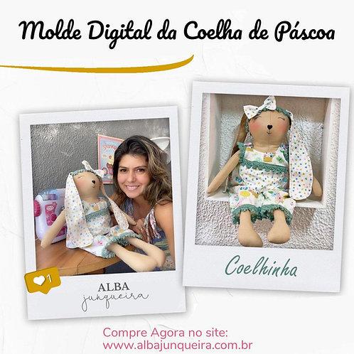 MOLDE COELHA DE PÁSCOA Duda