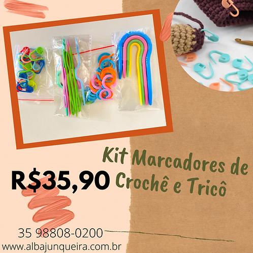 Kit de marcadores de Crochê e Tricô