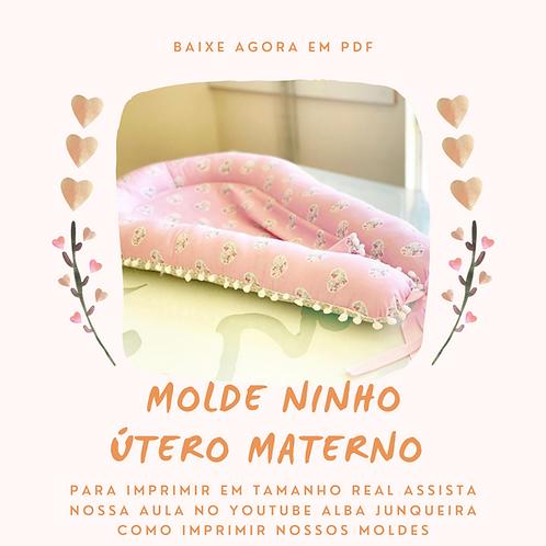MOLDE NINHO - ÚTERO MATERNO
