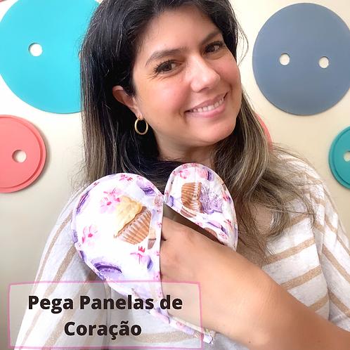 MOLDE PEGA PANELA DE CORAÇÃO