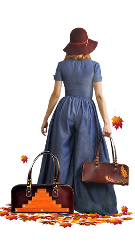J&Y Leather Creations, Jandy LeatherHandbags, Denim Couture collection