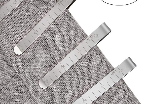 Sewing Crimping  Stainless Steel Hemming Clips