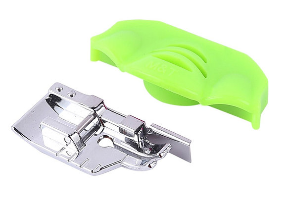 """1/4"""" Quarter Inch Quilting Presser Foot with Free Magnetic Seam Guide"""