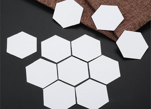 200 Pcs Hexagon Paper Quilting Templates English Paper Piecing