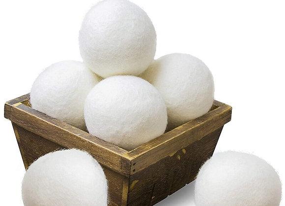 Wool Dryer Balls, Reusable Natural Fabric Softener