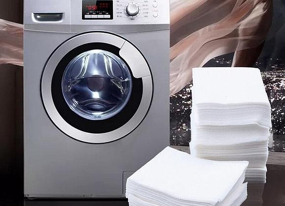 Color Catcher Sheets for Laundry, Maintains Clothes Original Colors, 200 Count