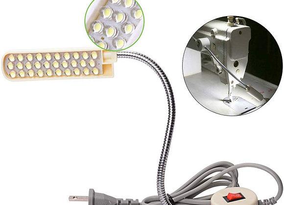 Lighting 10/20/30 LED Sewing Machine Light Magnetic Mounted Base Gooseneck Lamp