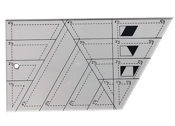 Quilting Sewing Patchwork Ruler, Trapezoid