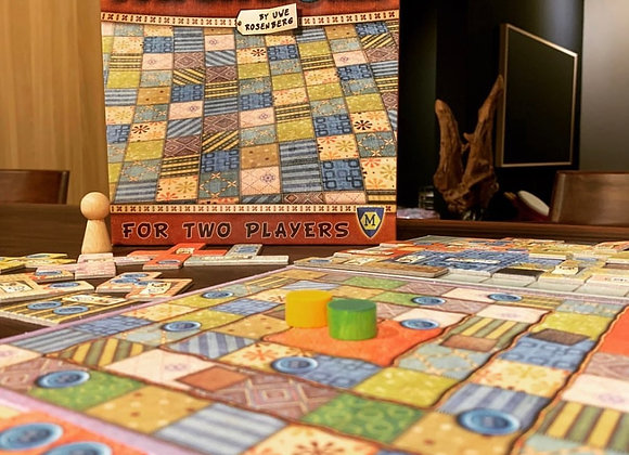 Patchwork Board Game Reflection Game Funny Strategy Board Game