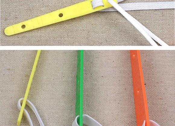3 Sizes Assorted Plastic Elastic Guides, Threaders