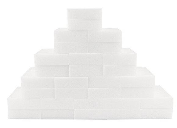 100PCS Magic Cleaning Eraser Sponge Melamine Foam, Just Add Water