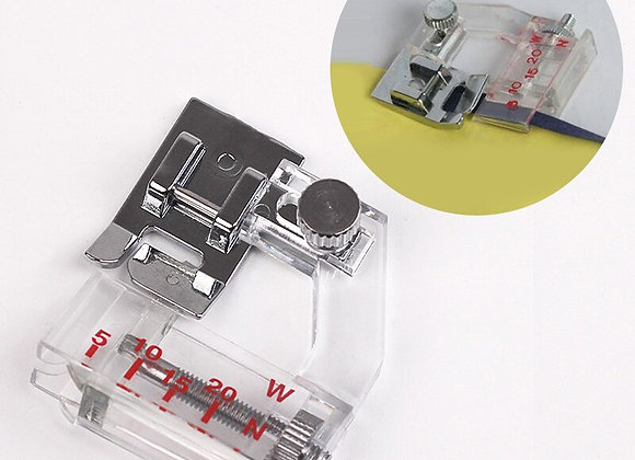 Snap-On Adjustable Bias Binder Presser Foot