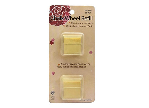 HONYSEW Chalk Wheel Refill Marker Tailor's Chalk Blue, Red, White, Yellow