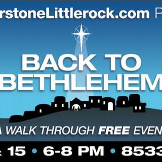Our Back to Bethlehem billboard