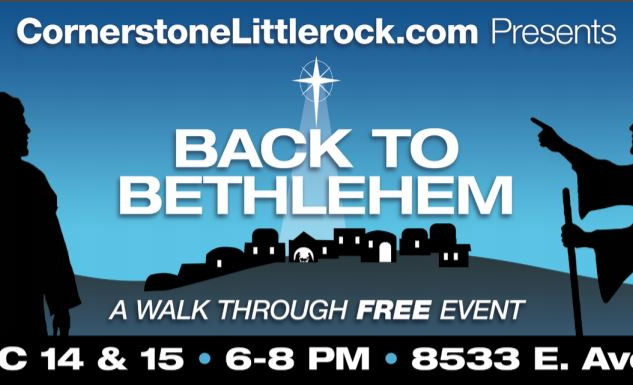 Our Back to Bethlehem billboard