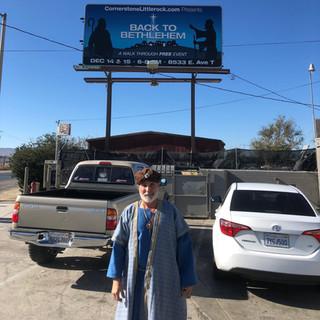 Kurt found the billboard!