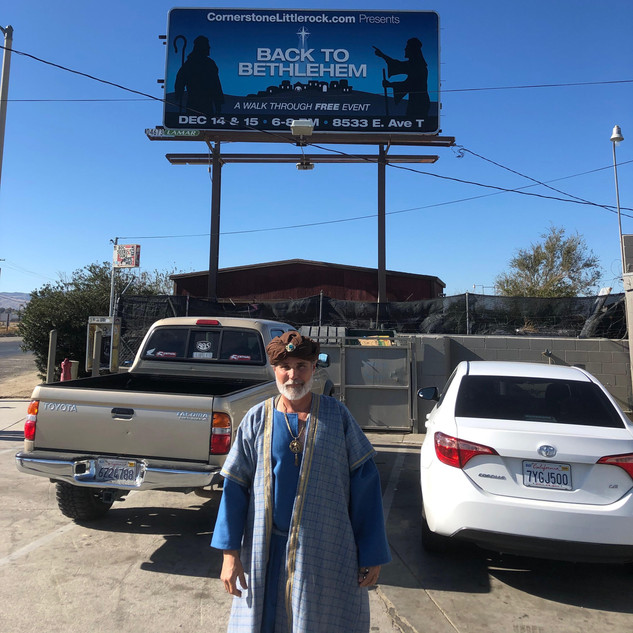 Kurt found the billboard!