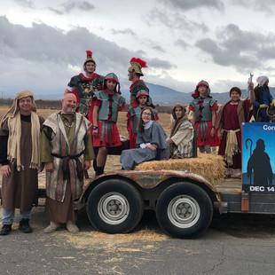 Back to Bethlehem at the Littlerock Christmas Parade