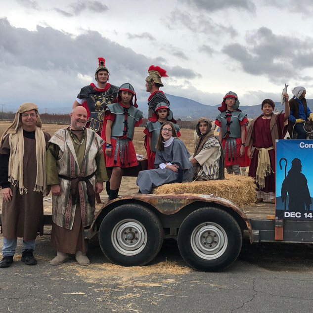 Back to Bethlehem at the Littlerock Christmas Parade