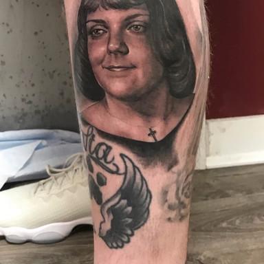 Tattoo by Emily Paul - BlackSails Studio