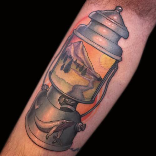Tattoo by Joe Friedman - BlackSails Studio