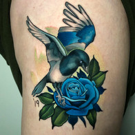 Tattoo by Joe Friedman - BlackSails Studio