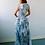 Thumbnail: NEO OVERALL DRESS WORMHOLE PRINT