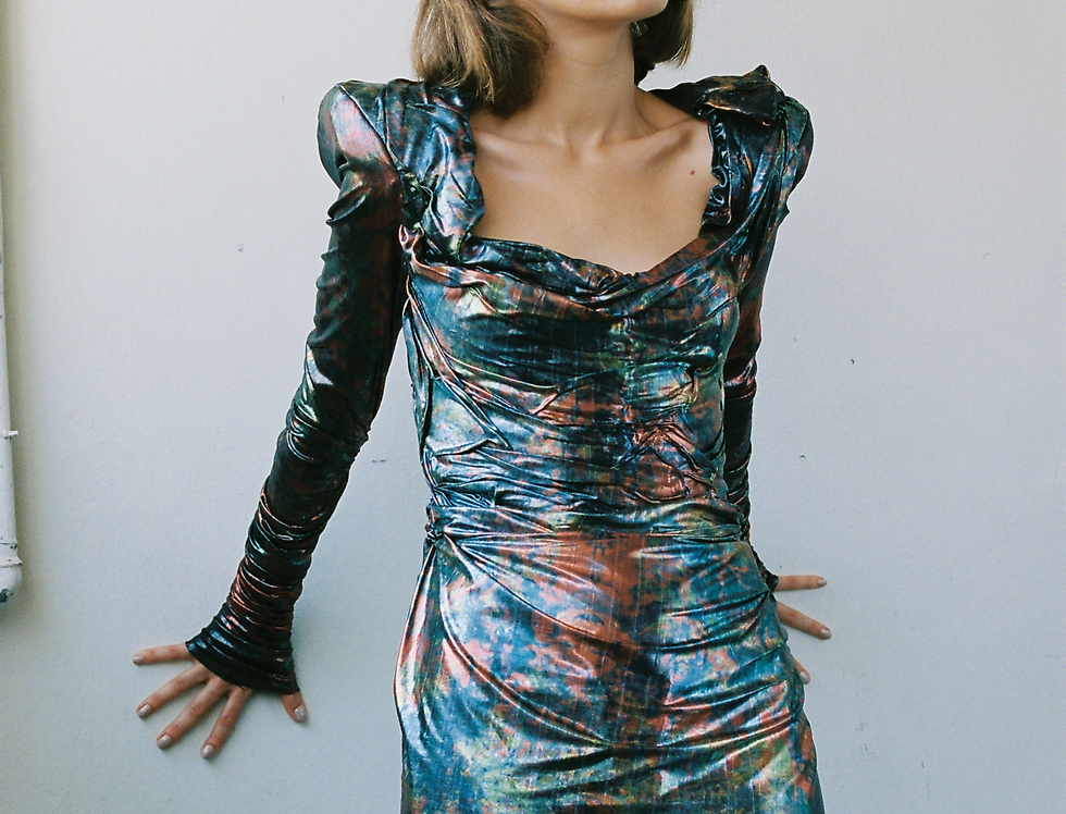 """SPACE TRAVEL"" DRESS PRINT"