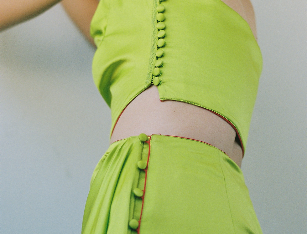 ALIEN GREEN SKIRT