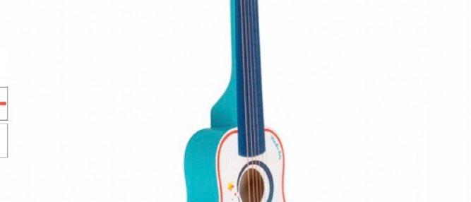 גיטרת עץ  מאווירת