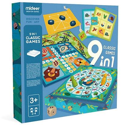 9 משחקים בקופסא אחת!!