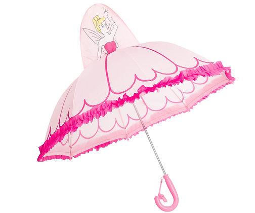 מטריה פטריה נסיכה תלת ממד