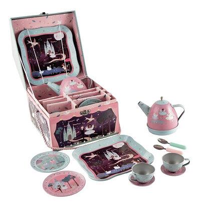 סט תה קומקום מנגן