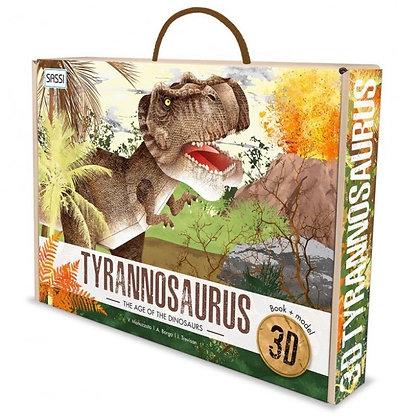 ערכת הכנת דינוזאור טי רקס תלת ממד